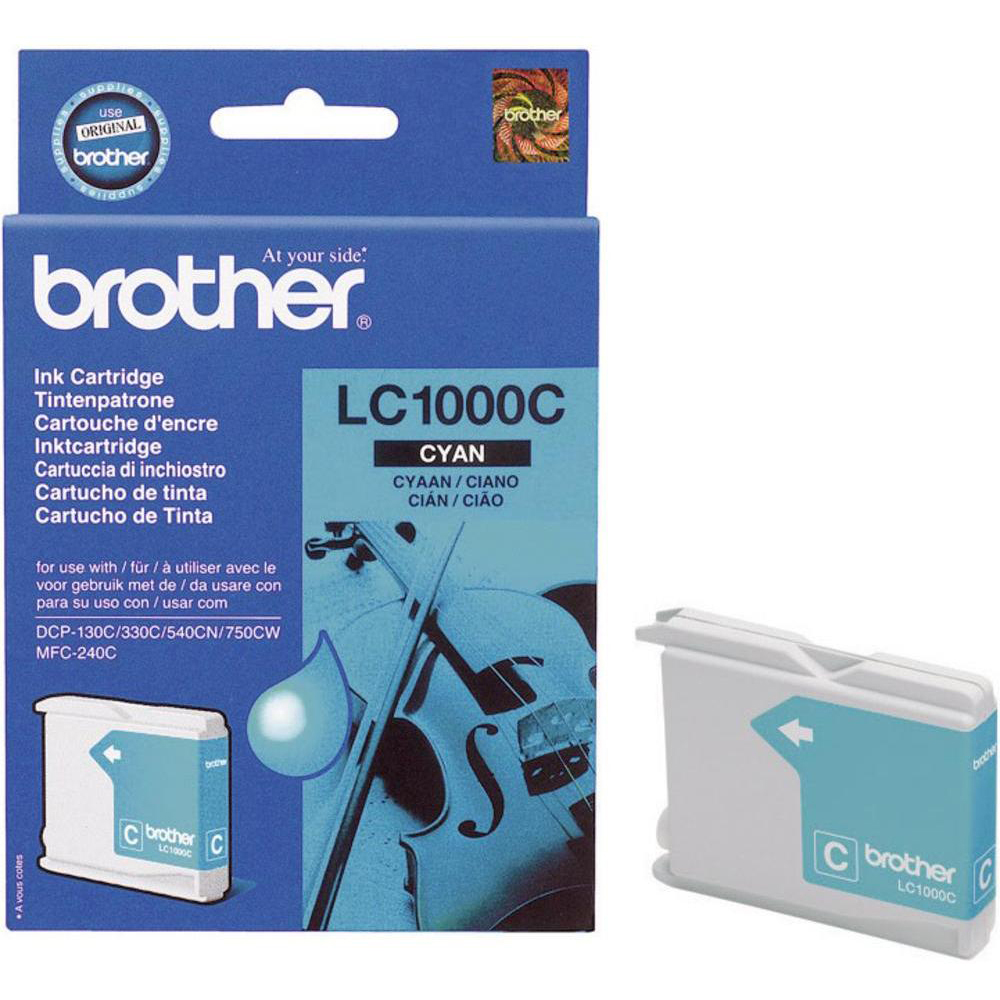 Original Brother LC1000C Cyan Ink Cartridge (LC1000C)