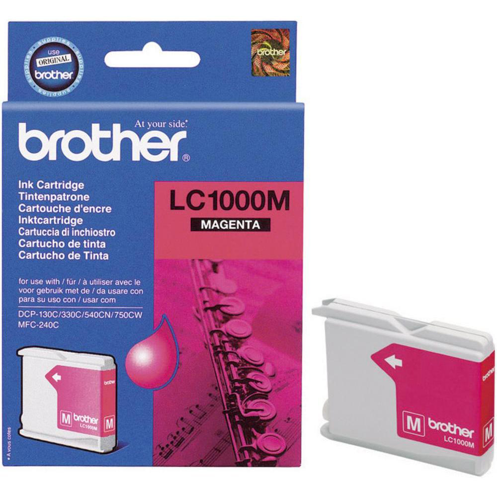 Original Brother LC1000M Magenta Ink Cartridge (LC1000M)