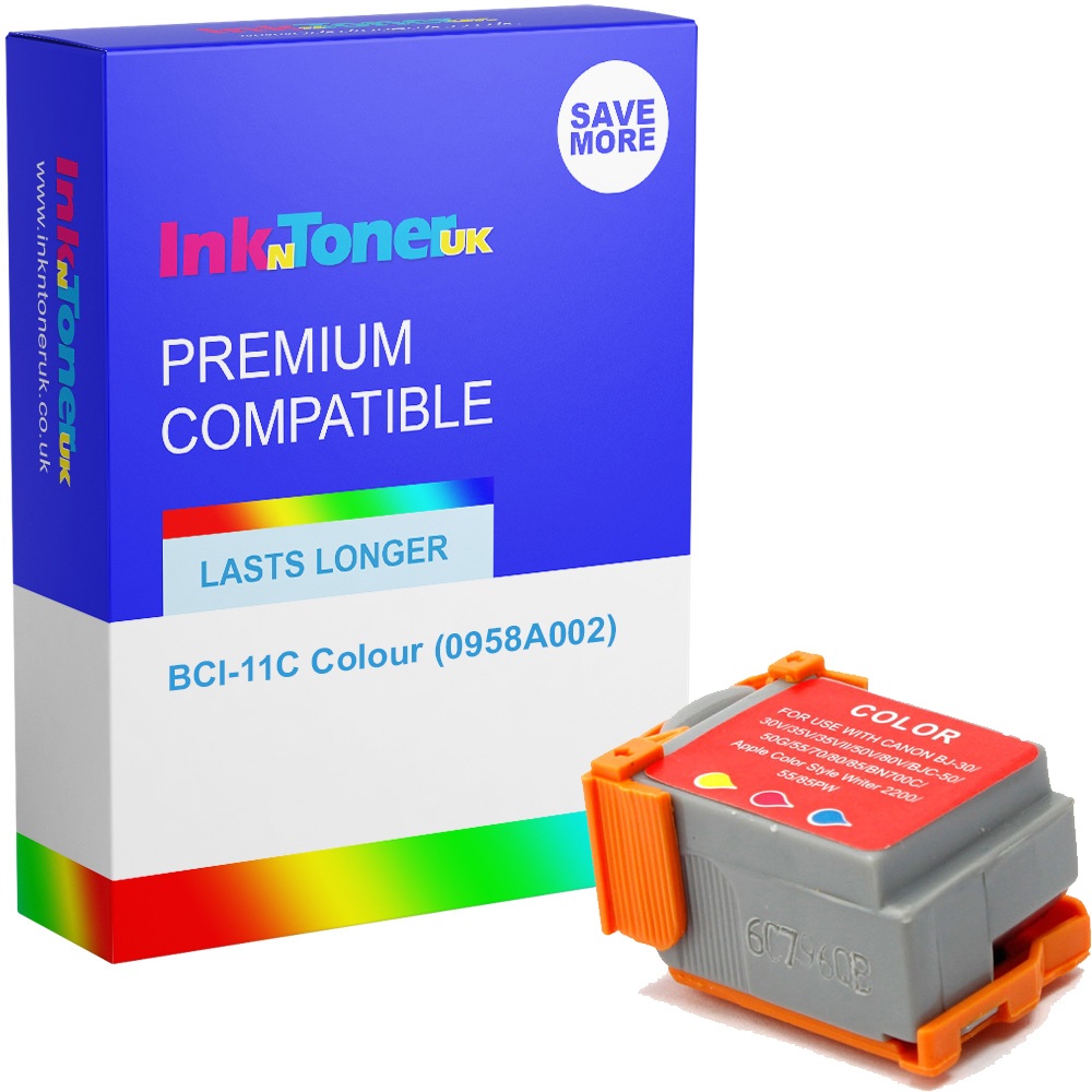 Premium Compatible Canon BCI-11C Colour Ink Cartridge (0958A002)