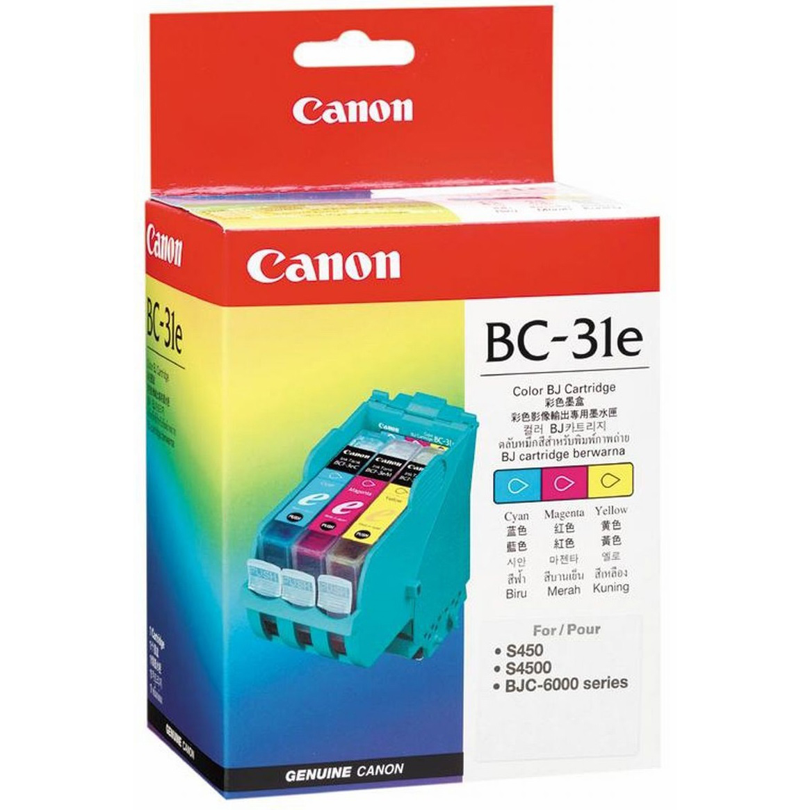 Original Canon BC-31E Colour Ink Cartridge (BC-31E)