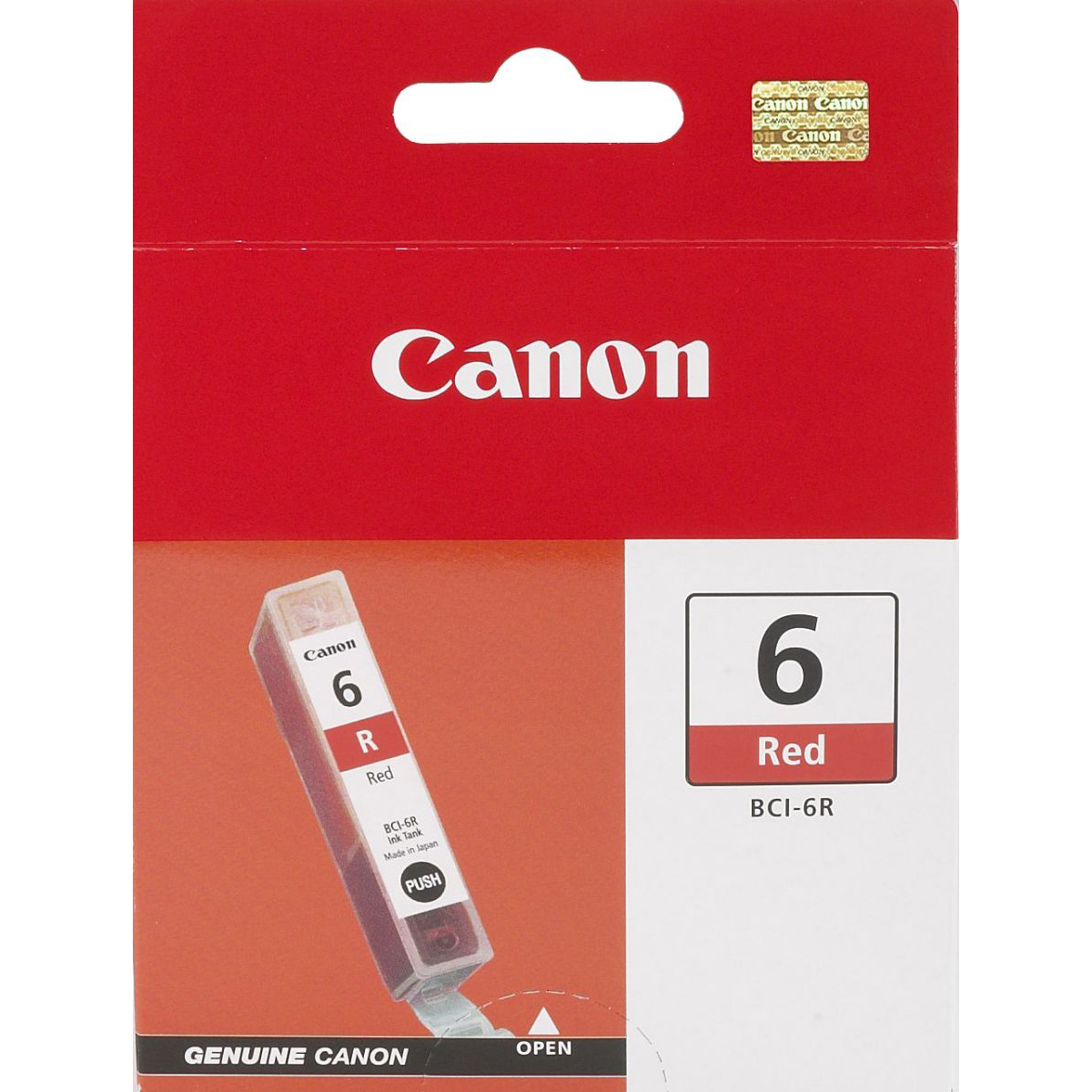 Original Canon BCI-6R Red Ink Cartridge (8891A002)