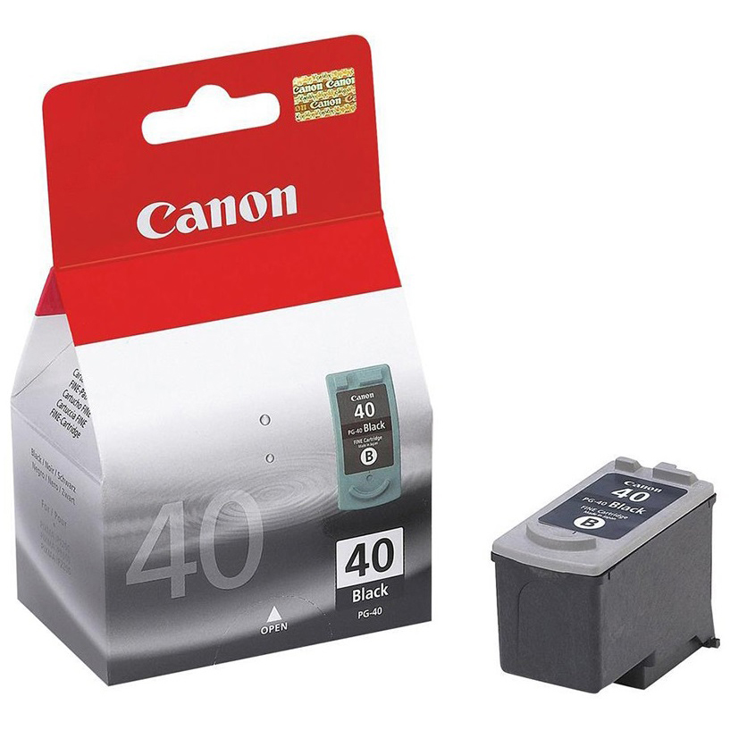 Original Canon PG-40 Black Ink Cartridge (0615B001)
