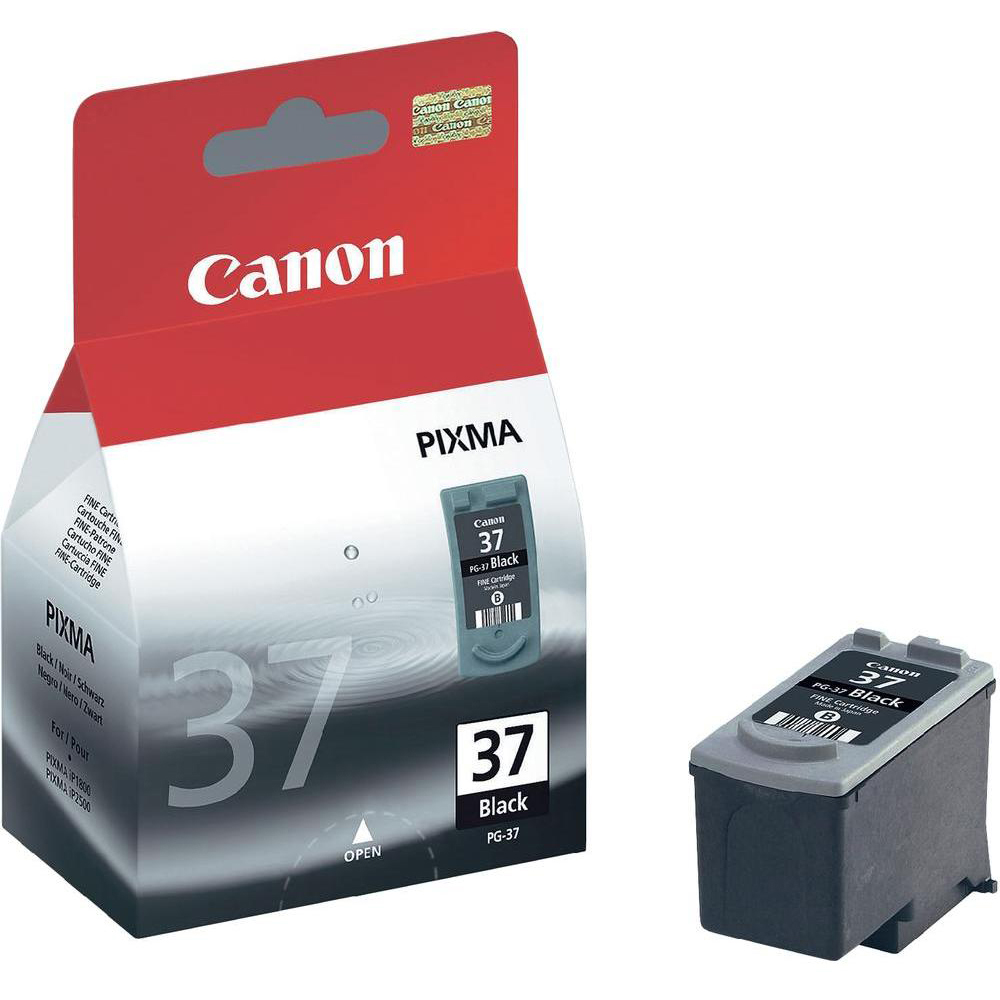 Original Canon PG-37 Black Ink Cartridge (2145B001)