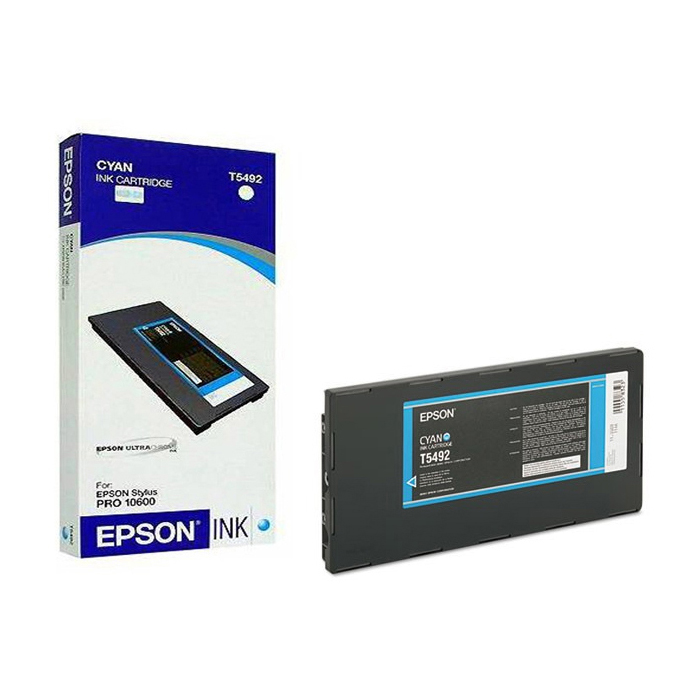 Original Epson T5492 Cyan Ink Cartridge (C13T549200)