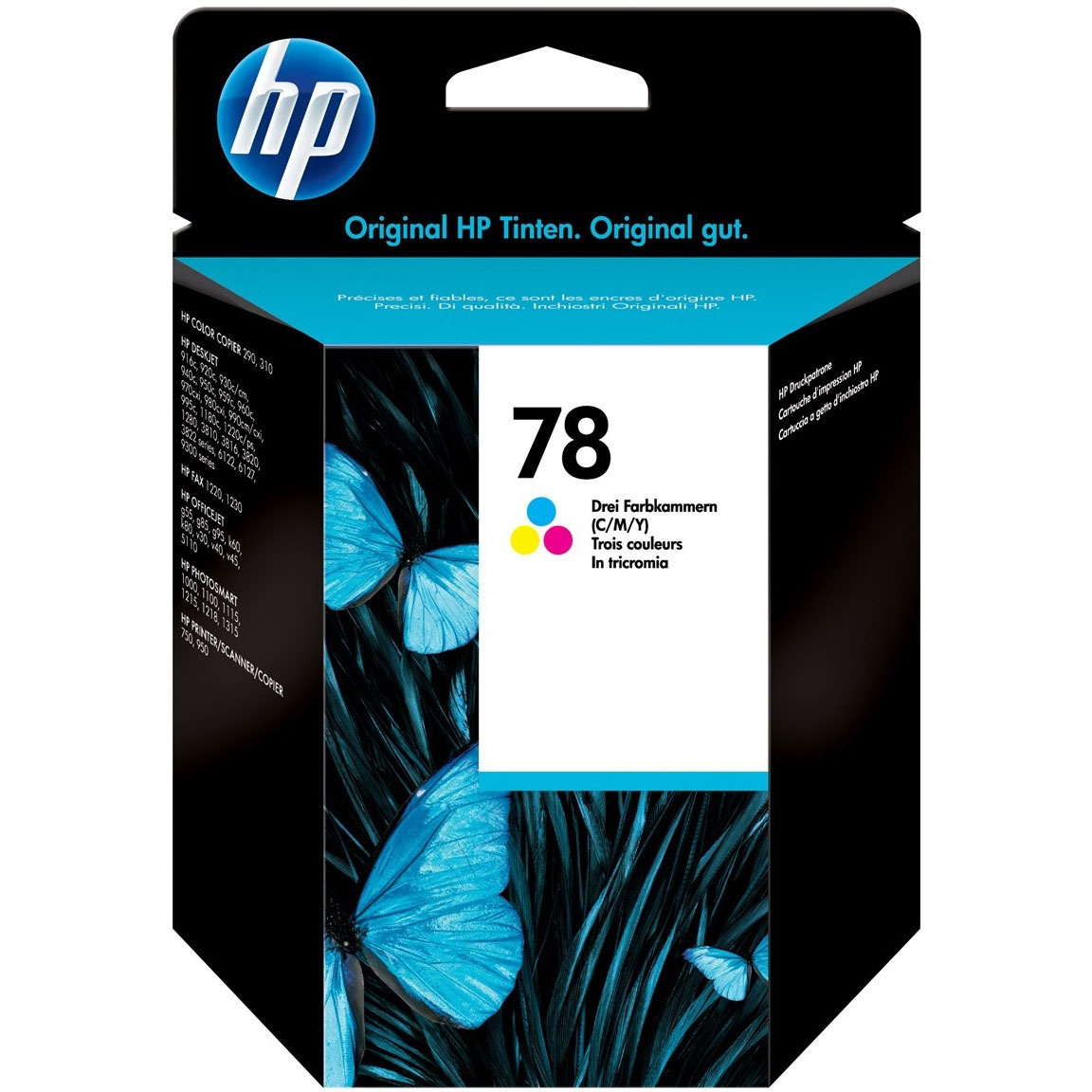 Original HP 78 Colour Ink Cartridge (C6578DE)