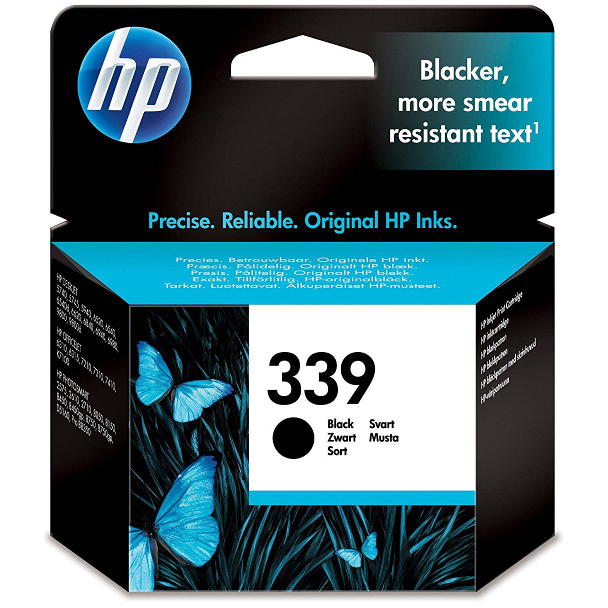 Original HP 339 Black Ink Cartridge (C8767EE)