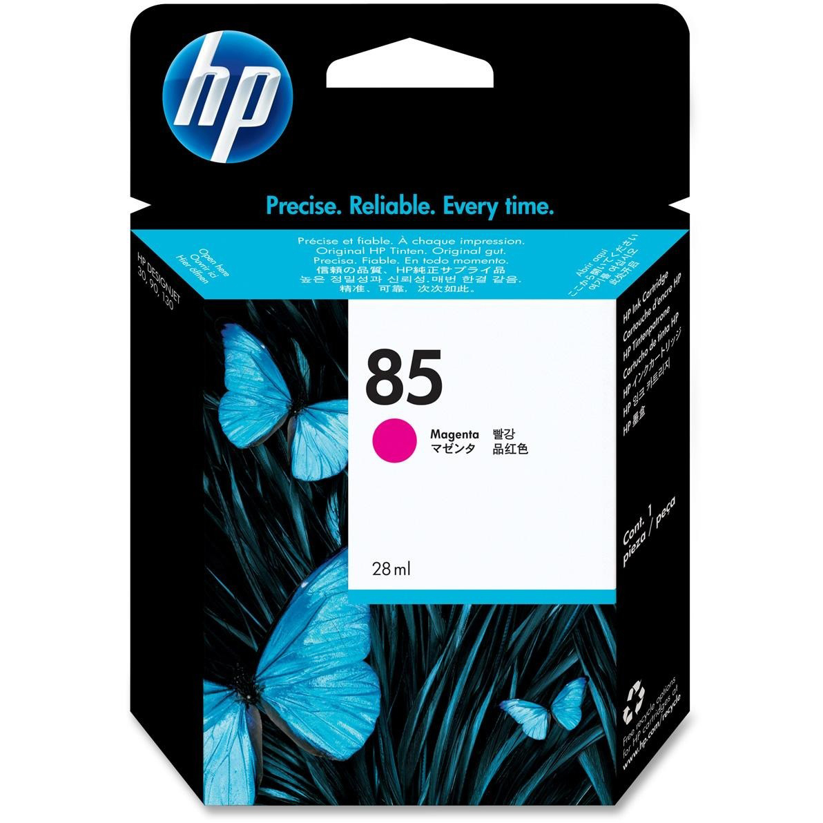 Original HP 85 Magenta Ink Cartridge (C9426A)