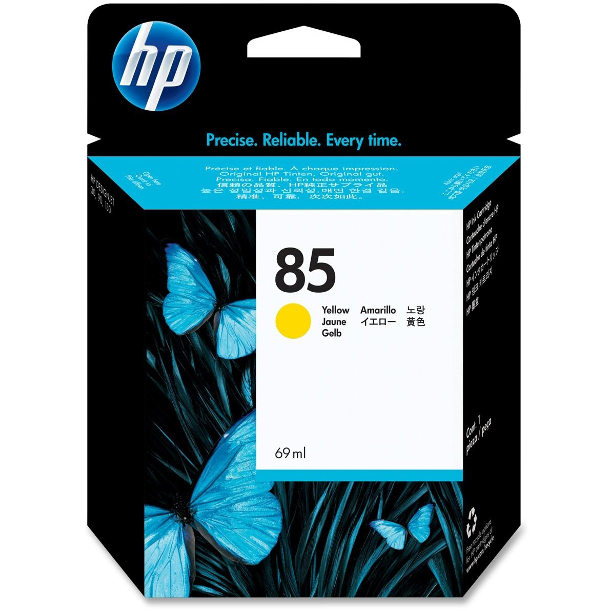 Original HP 85 Yellow Ink Cartridge (C9427A)