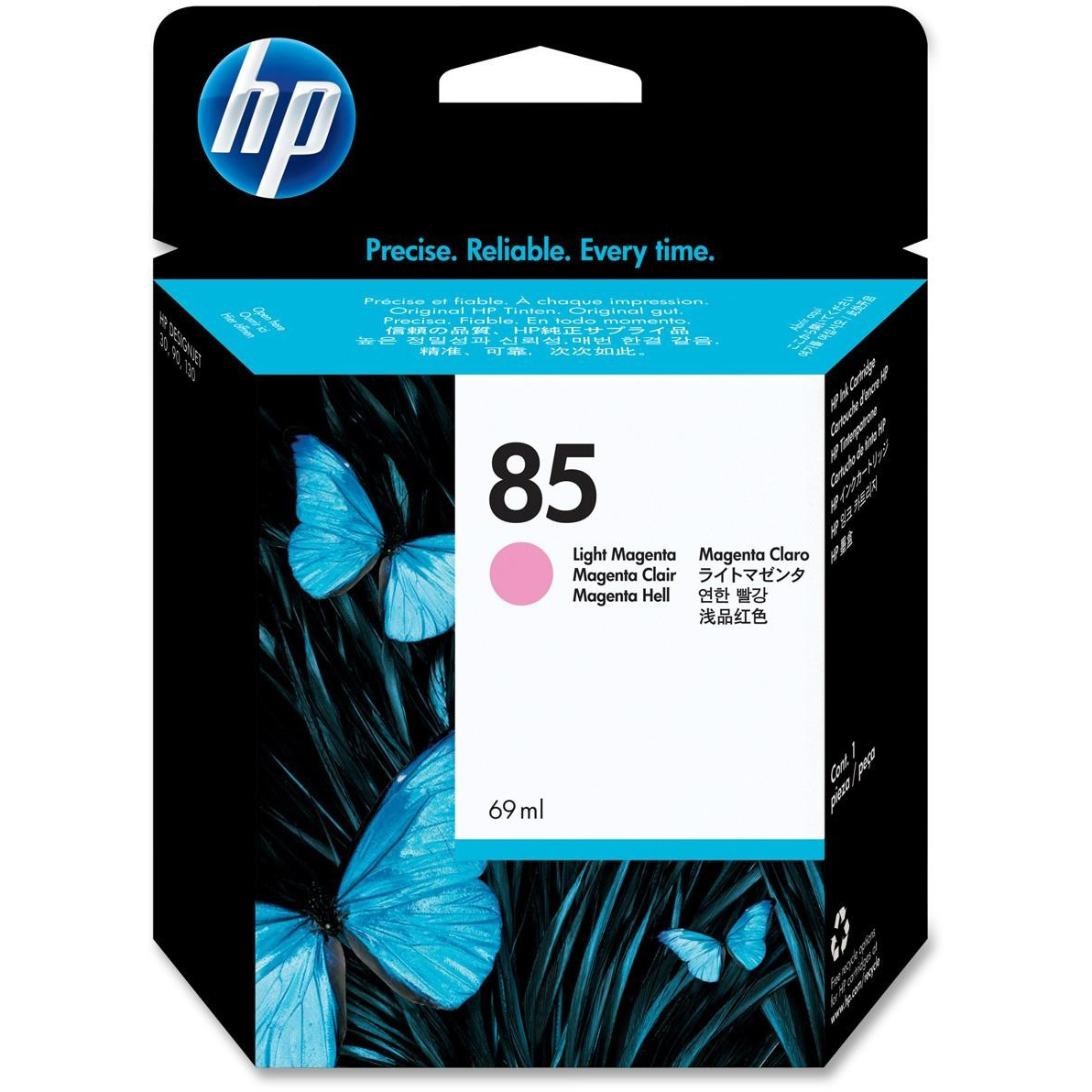 Original HP 85 Light Magenta Ink Cartridge (C9429A)