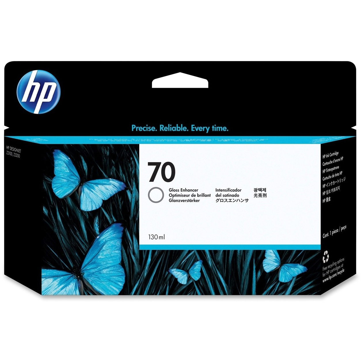 Original HP 70 Gloss Enhancer Ink Cartridge (C9459A)