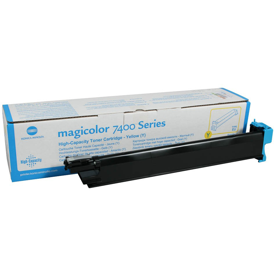 Original Konica Minolta 8938622 Yellow Toner Cartridge (8938622)