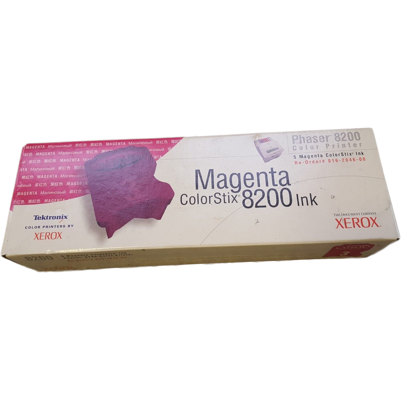 Original Xerox 16204600 Magenta 5 Pack Solid Ink (016204600)