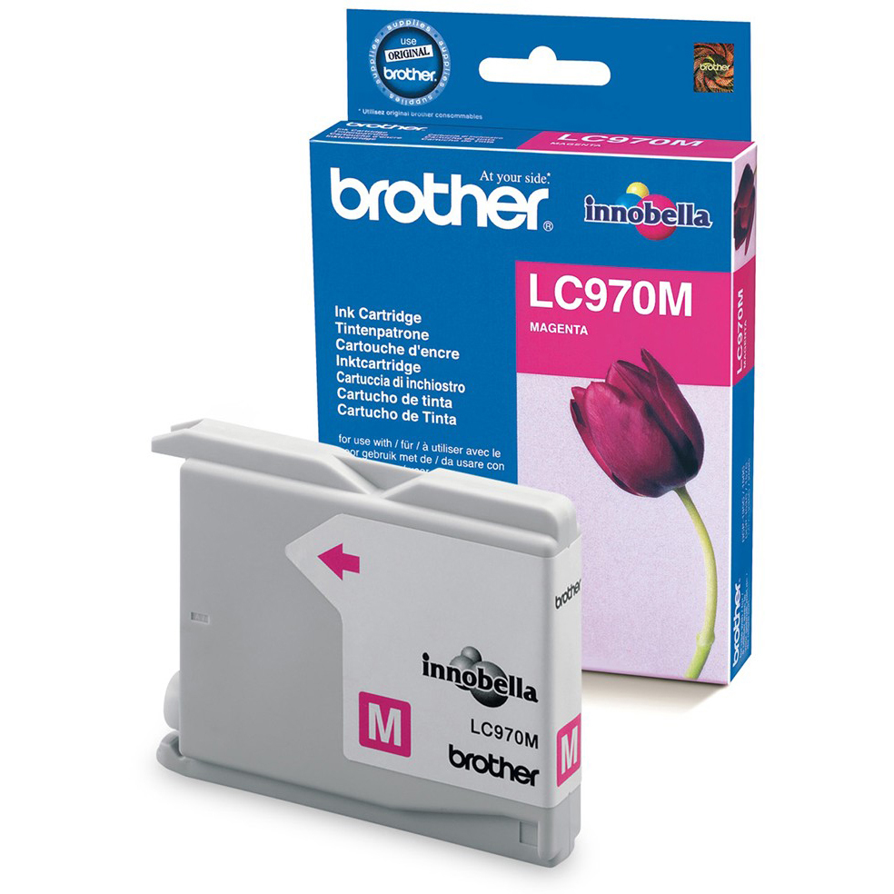 Original Brother LC970M Magenta Ink Cartridge (LC970M)