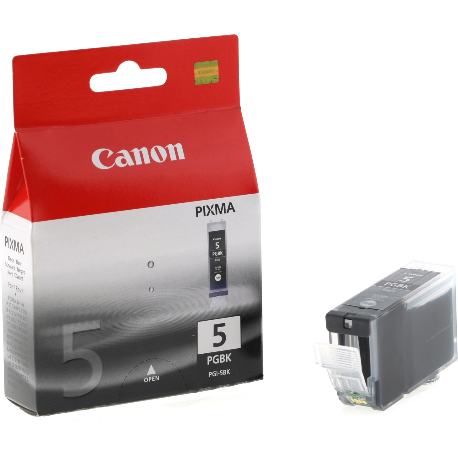 Original Canon PGI-5 Black Ink Cartridge (0628B001)
