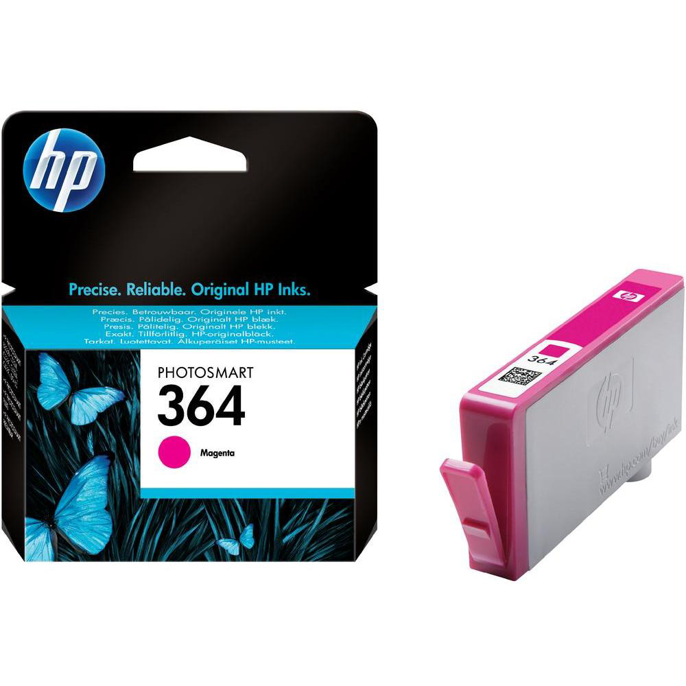 Original HP 364 Magenta Ink Cartridge (CB319EE)