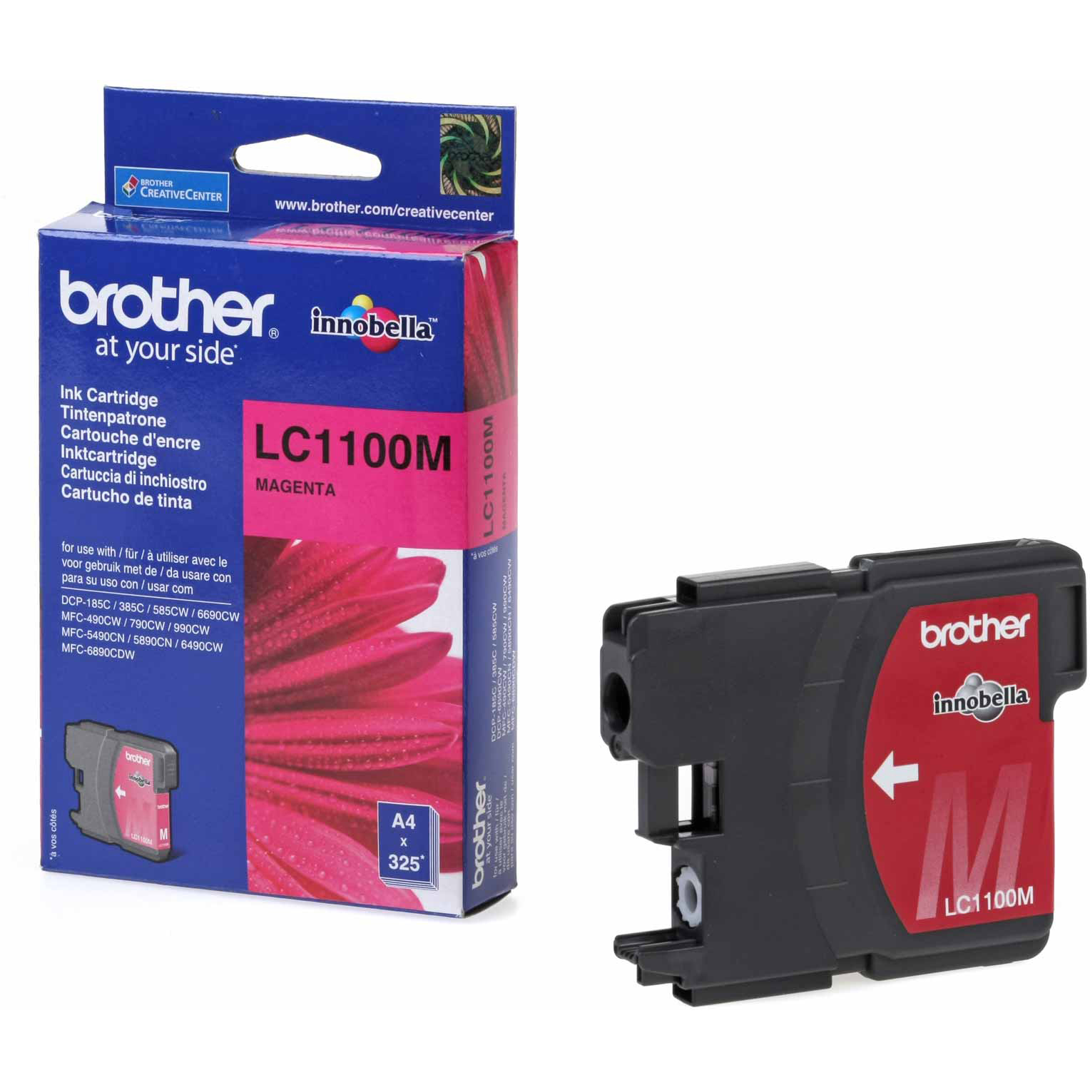 Original Brother LC1100 Magenta Ink Cartridge (LC1100M)