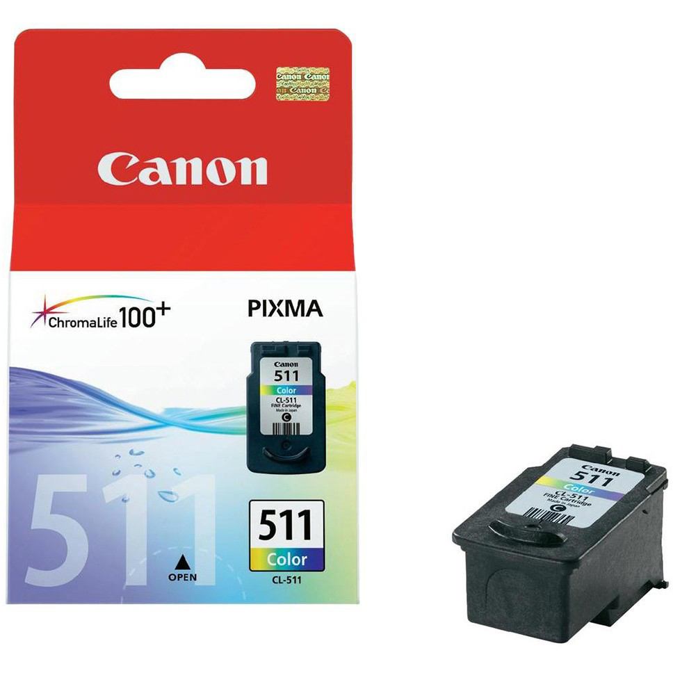 Original Canon CL-511 Colour Ink Cartridge (2972B001)
