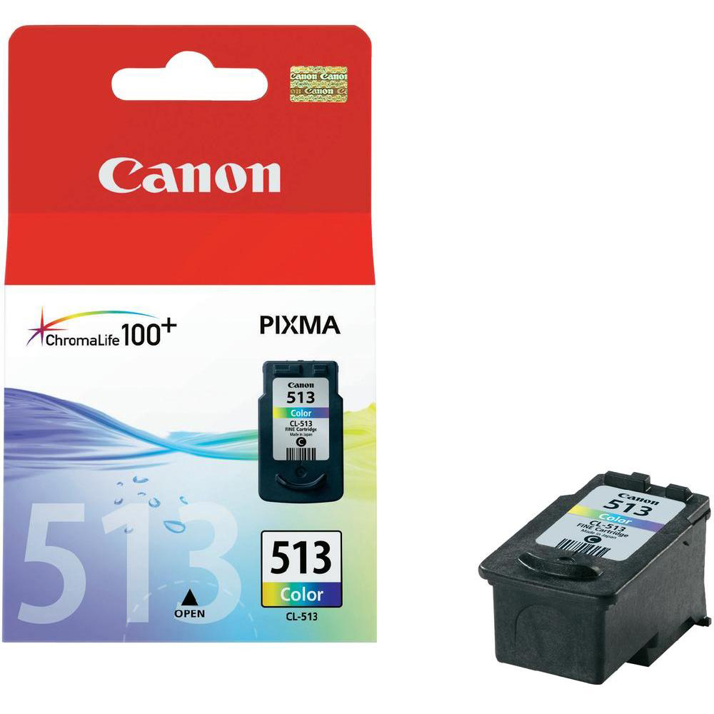 Original Canon CL-513 Colour High Capacity Ink Cartridge (2971B001)