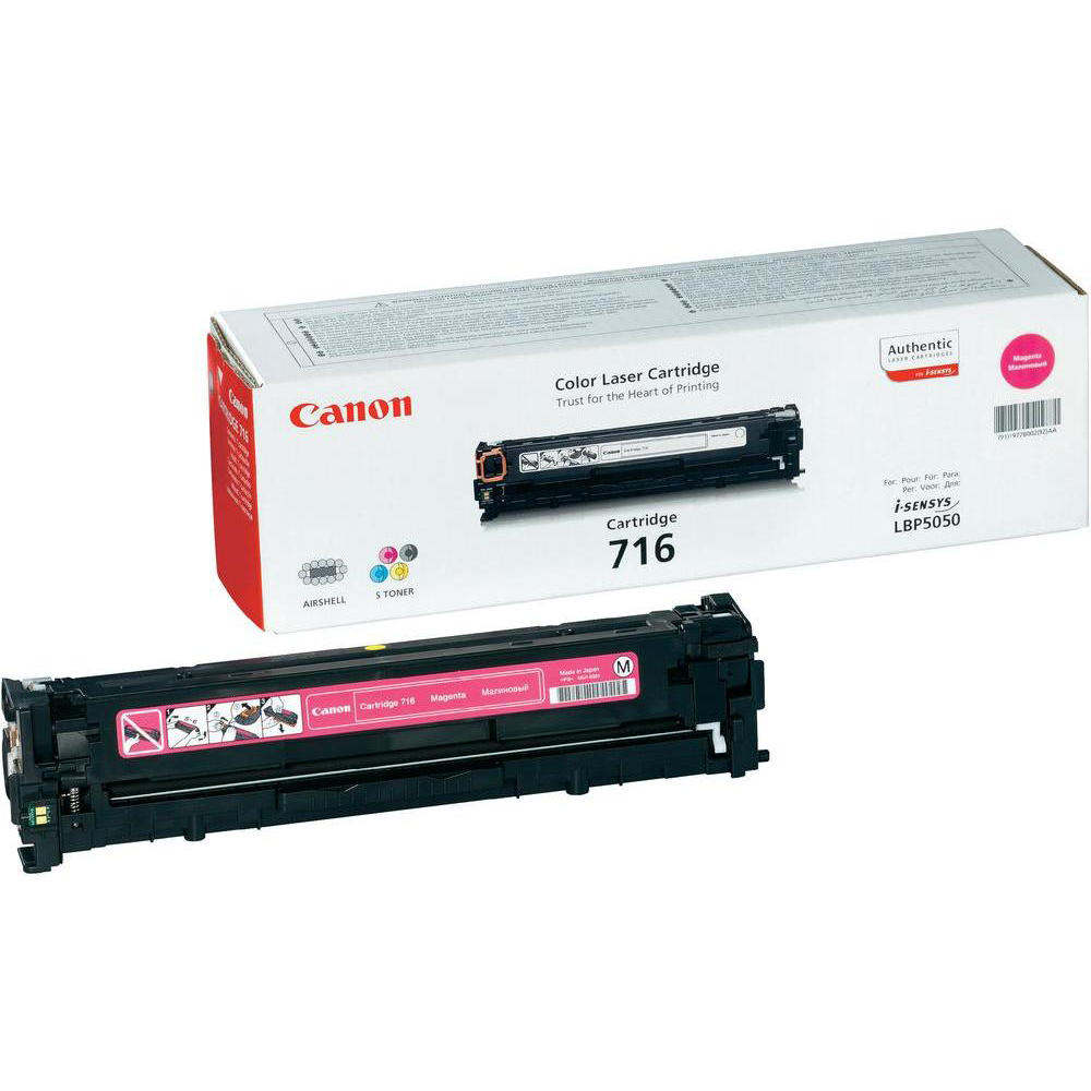 Original Canon 716 Magenta Toner Cartridge (1978B002AA)