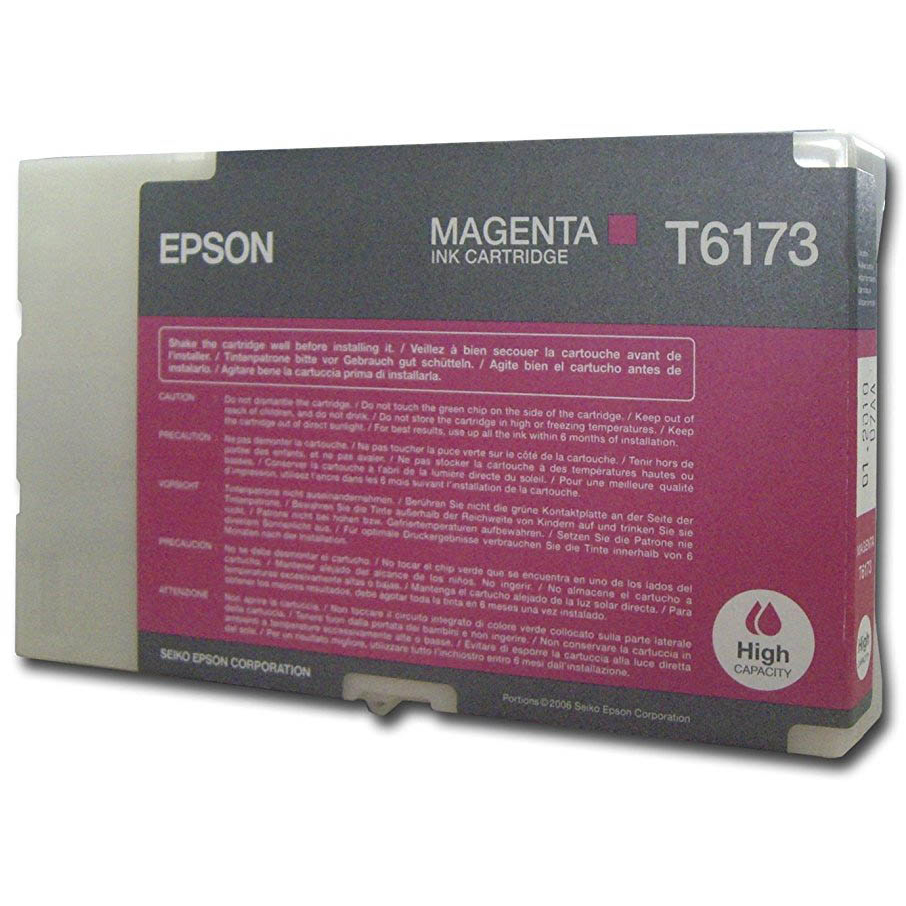 Original Epson T6173 Magenta High Capacity Ink Cartridge (C13T617300)