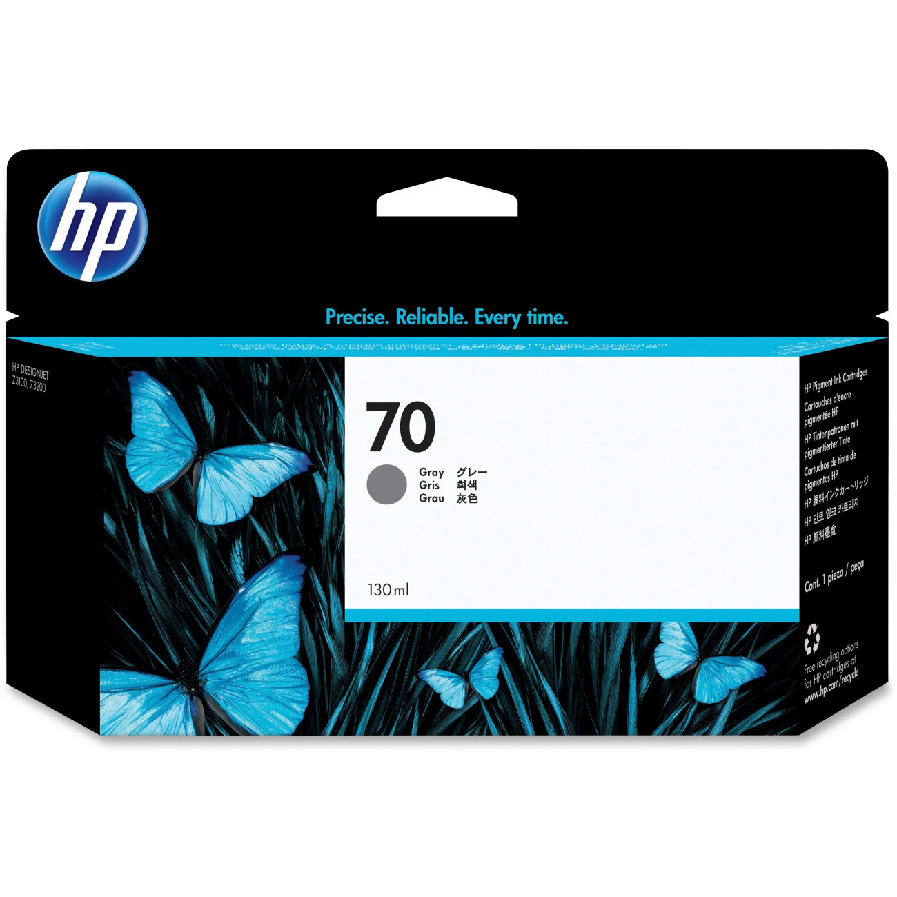 Original HP 70 Grey Ink Cartridge (C9450A)