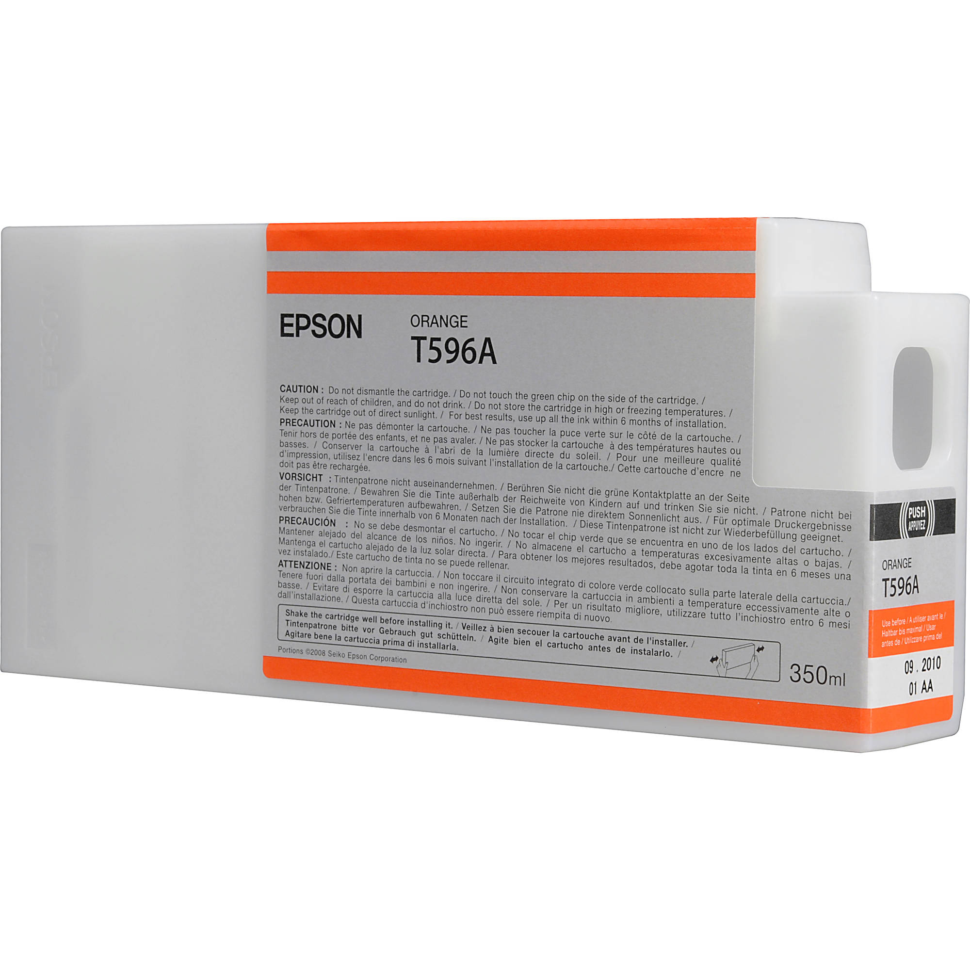 Original Epson T596A Orange Ink Cartridge (C13T596A00)
