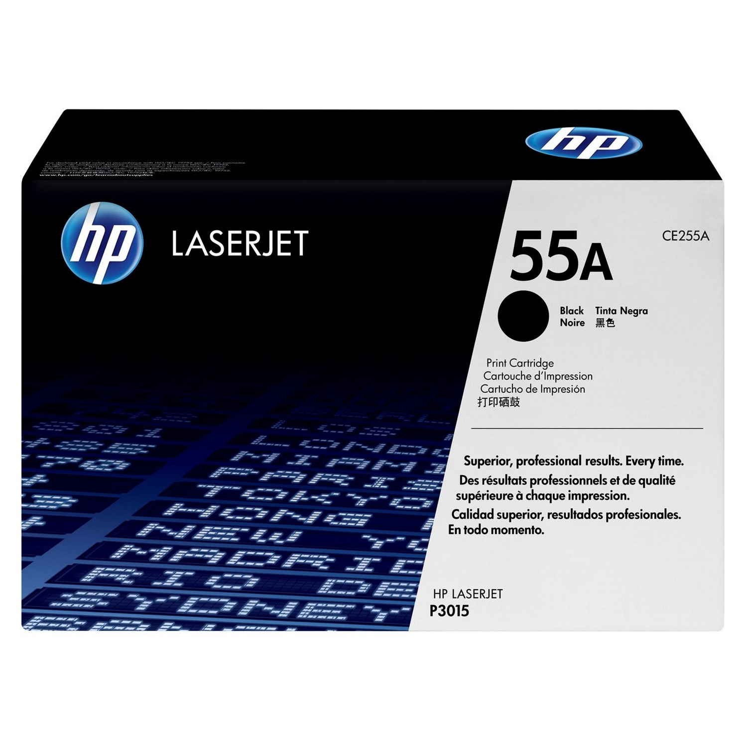 Original HP 55A Black Toner Cartridge (CE255A)