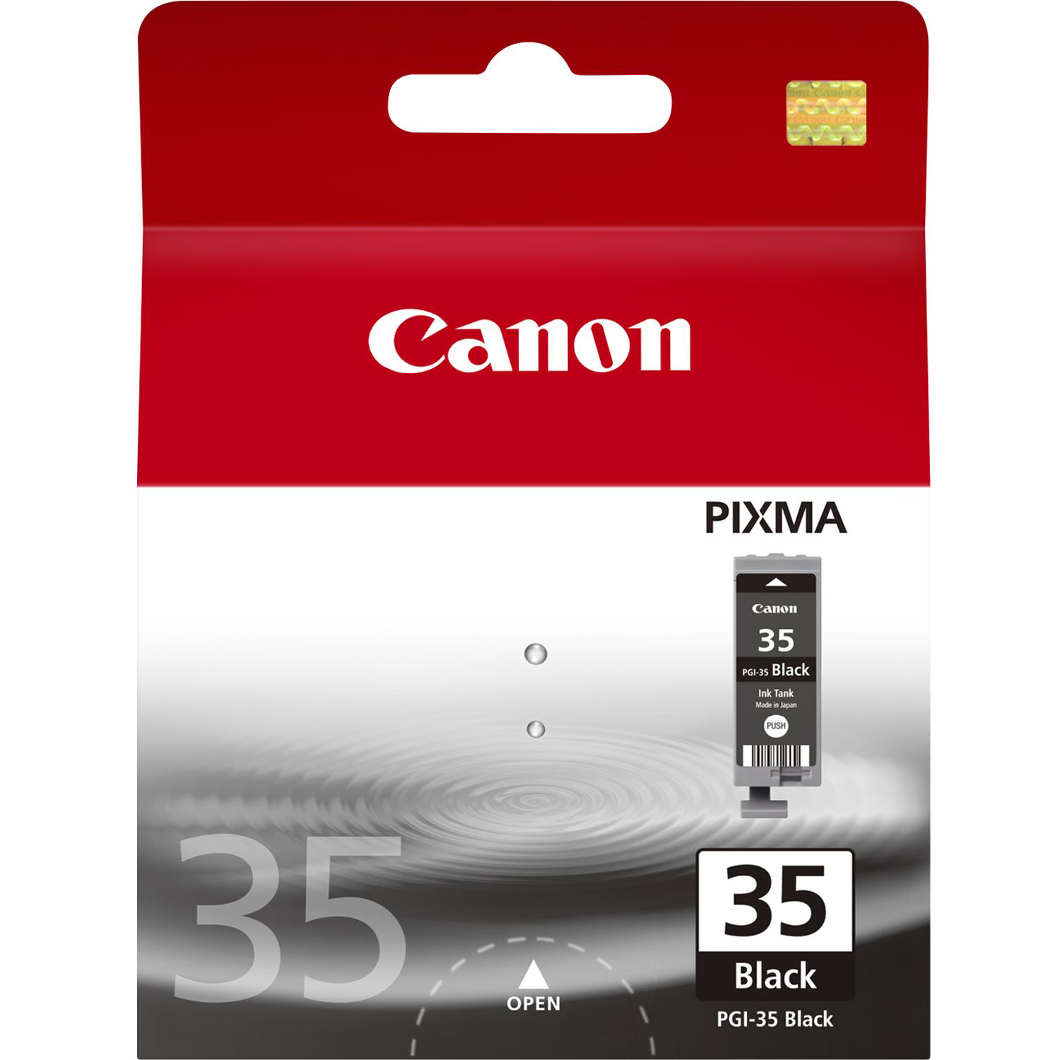 Original Canon PGI-35BK Black Ink Cartridge (1509B001)