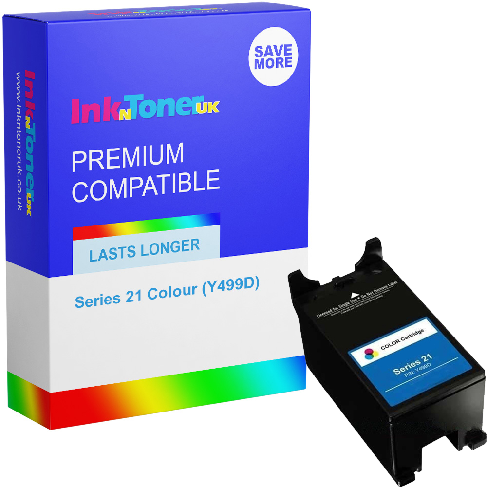 Premium Compatible Dell Series 21 Colour Ink Cartridge (Y499D)