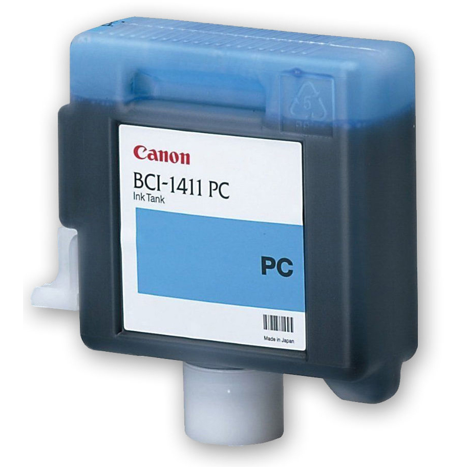 Original Canon BCI-1411PC Photo Cyan Ink Cartridge (7578A001AA)