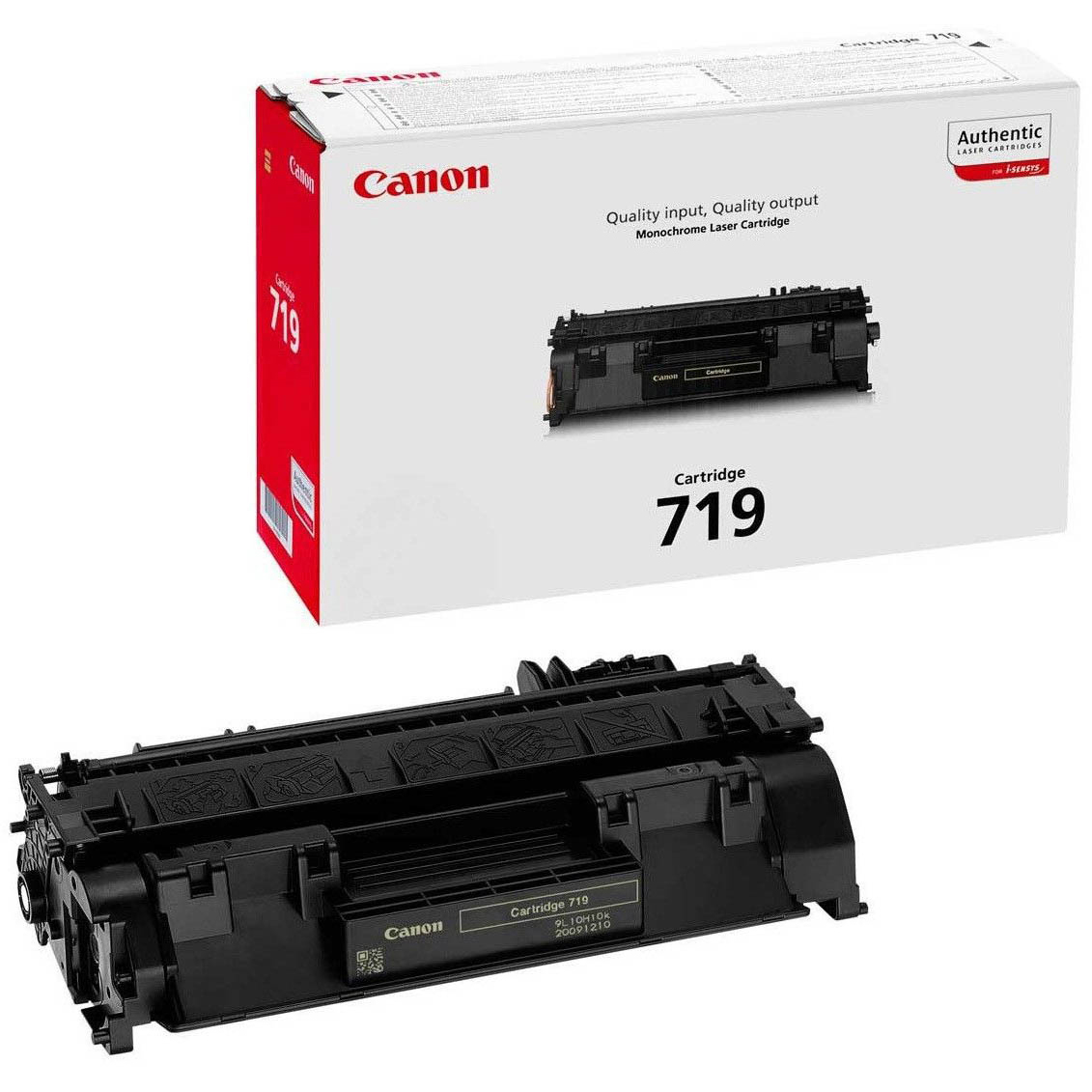 Original Canon 719 Black Toner Cartridge (3479B002AA)