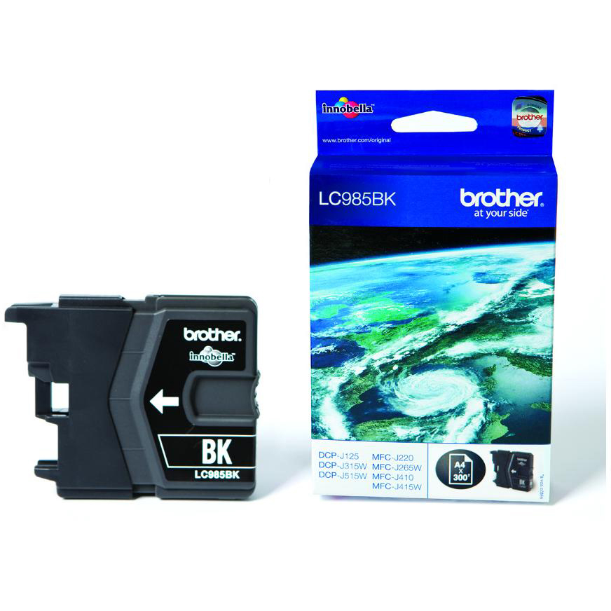 Original Brother LC985BK Black Ink Cartridge (LC985BK)