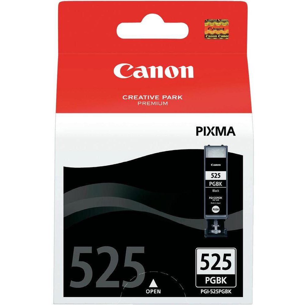 Original Canon PGI-525PGBK Black Ink Cartridge (4529B001)