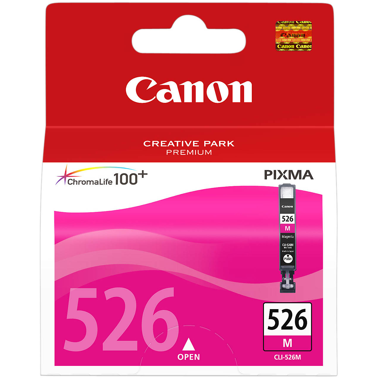 Original Canon CLI-526M Magenta Ink Cartridge (4542B001)