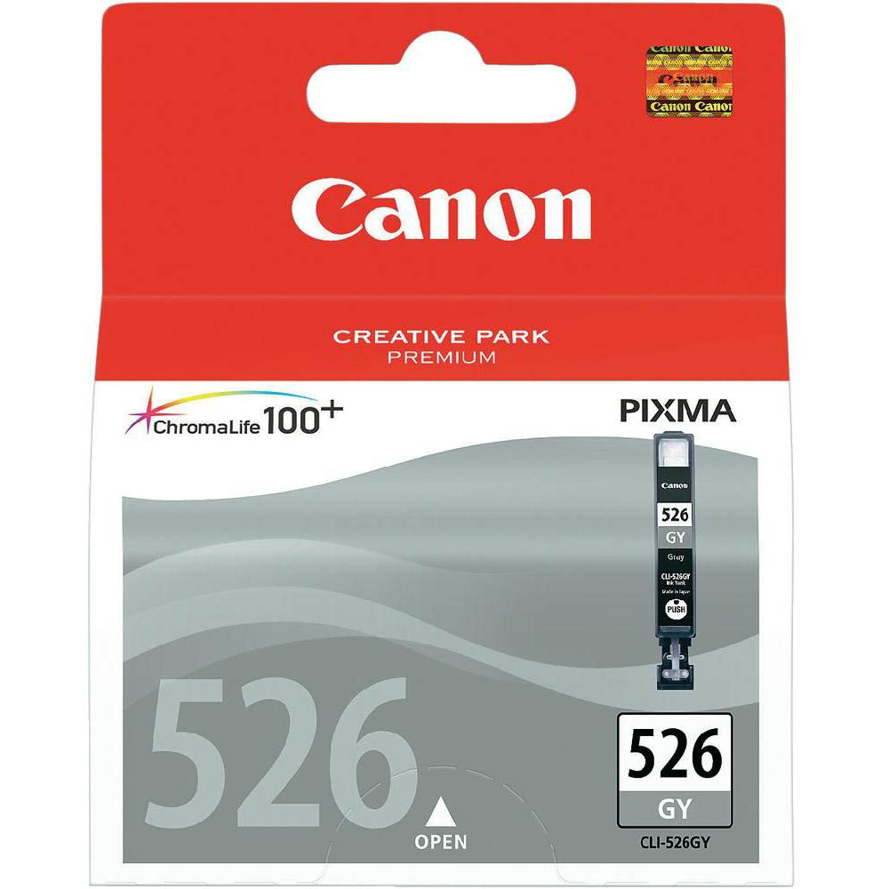 Original Canon CLI-526GY Grey Ink Cartridge (4544B001)