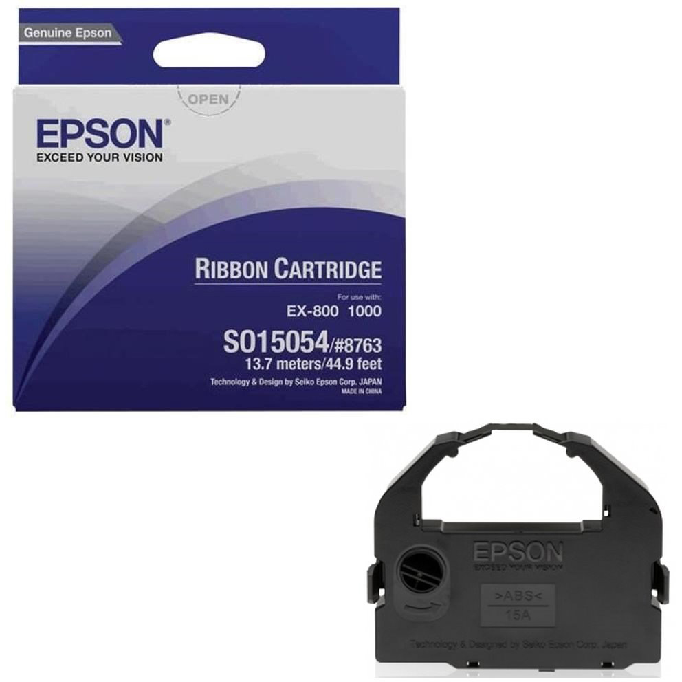 Original Epson S015054 Black Ribbon (C13S015054)