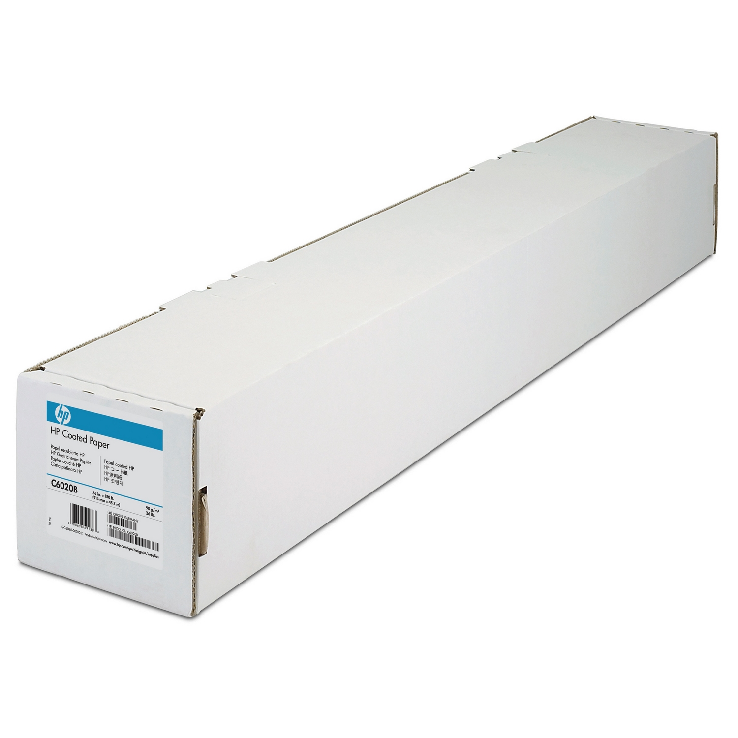 Original HP C6020B 90gsm 36in x 150ft Paper Roll (C6020B)