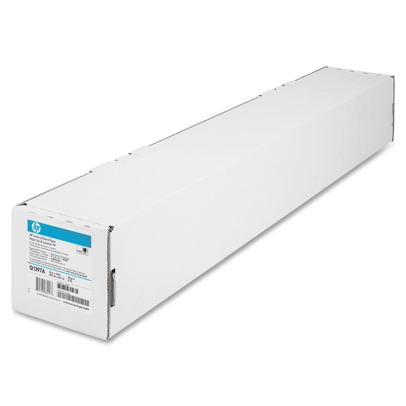 Original HP Q1397A 80gsm 36in x 150ft Paper Roll (Q1397A)