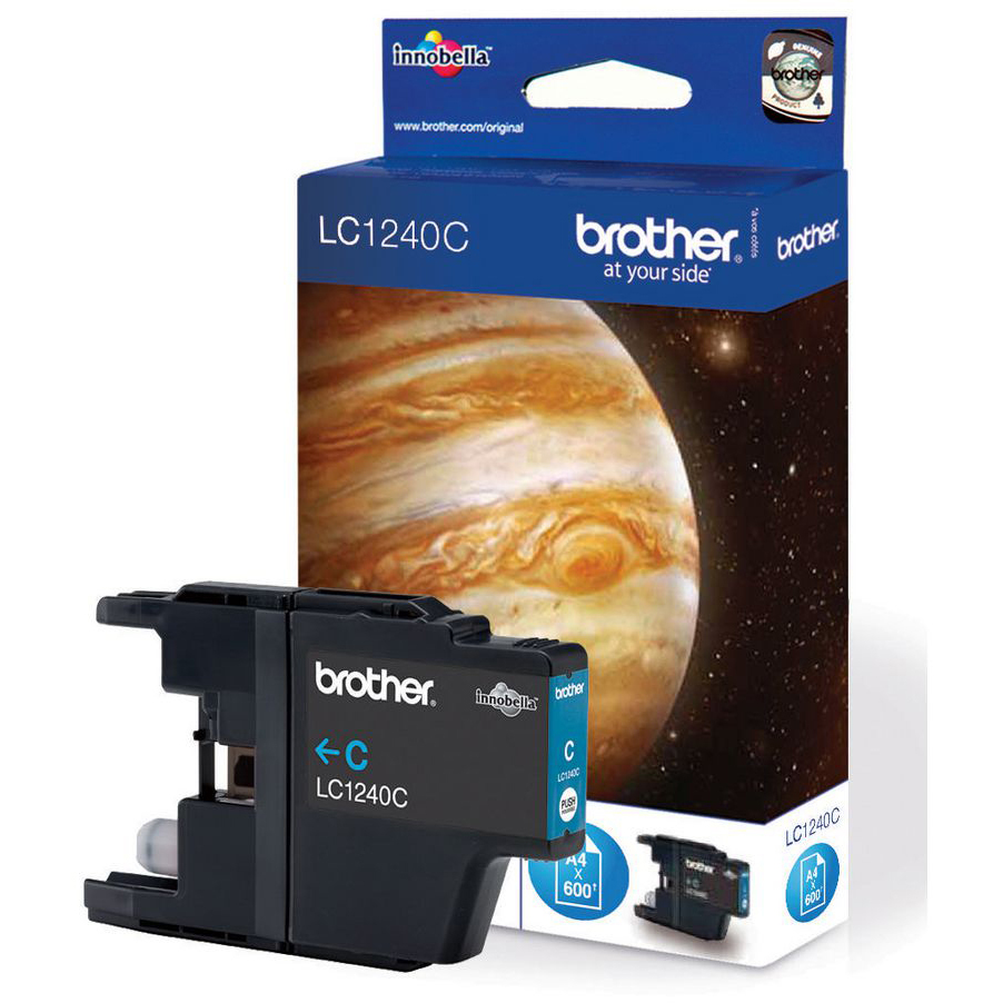 Original Brother LC1240C Cyan High Capacity Ink Cartridge (LC1240C)