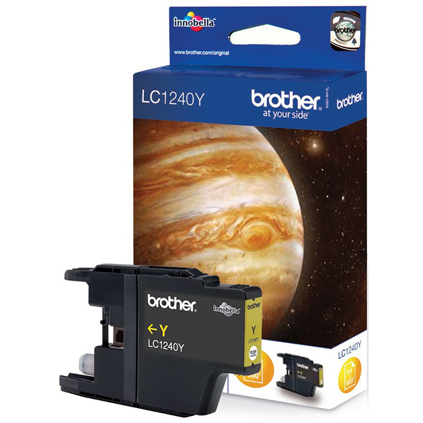 Original Brother LC1240Y Yellow High Capacity Ink Cartridge (LC1240Y)