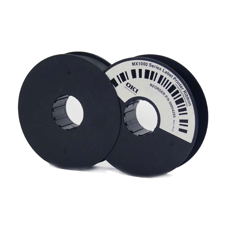 Original OKI 09004295 Black Ink Ribbon (09004295)