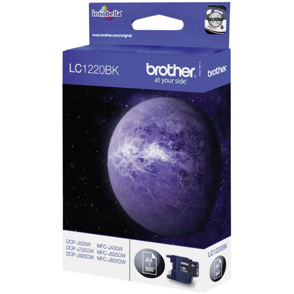 Original Brother LC1220BK Black Ink Cartridge (LC1220BK)