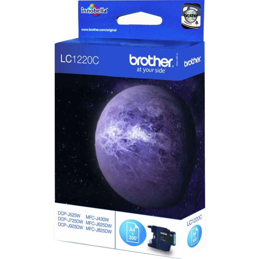 Original Brother LC1220C Cyan Ink Cartridge (LC1220C)