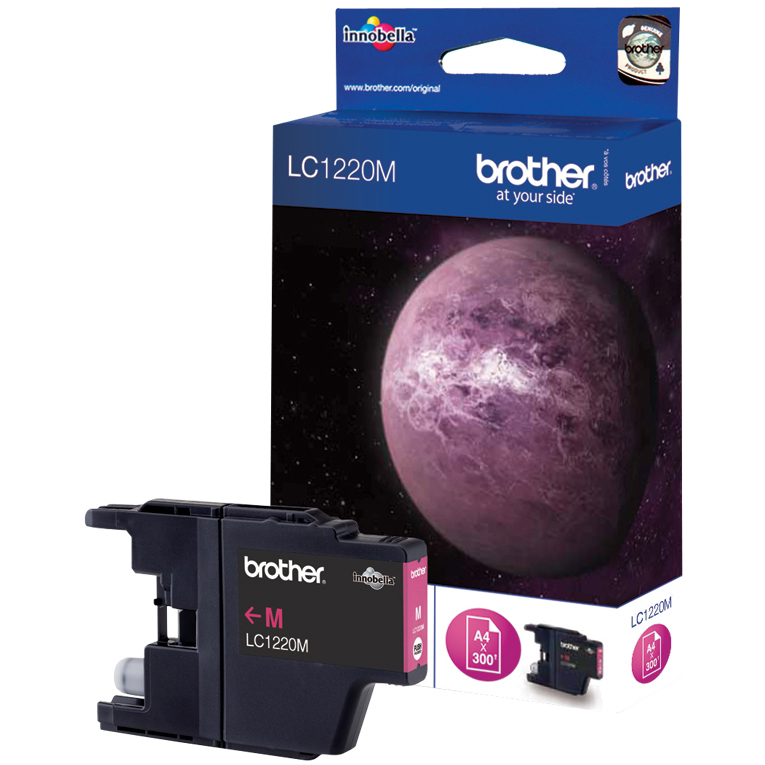 Original Brother LC1220M Magenta Ink Cartridge (LC1220M)