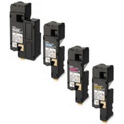 Original Epson S05061 CMYK Multipack High Capacity Toner Cartridges (S050611/ S050612/ S050613/ S050614)