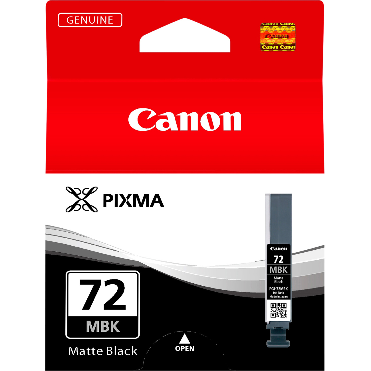 Original Canon PGI-72MBK Matte Black Ink Cartridge (6402B001)