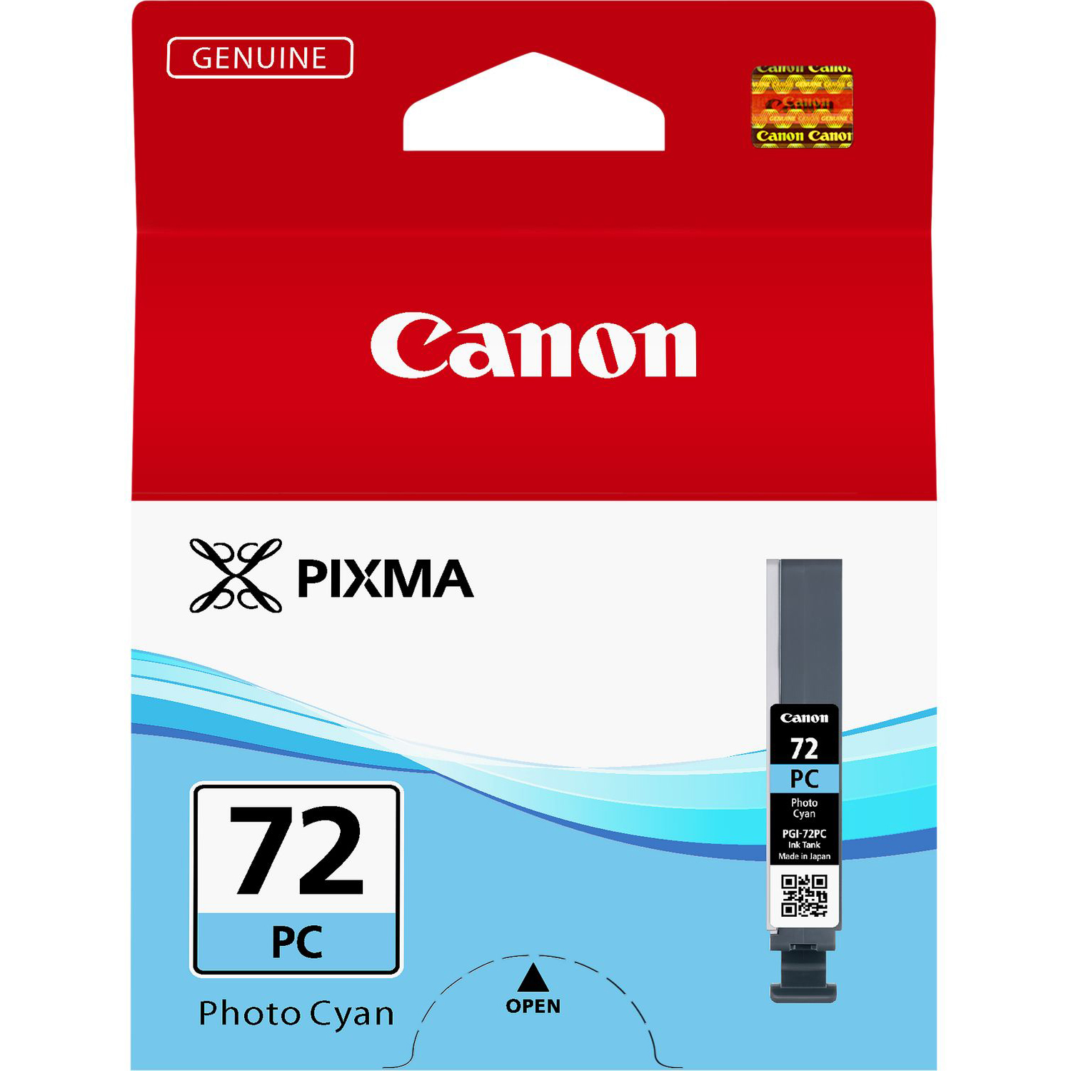 Original Canon PGI-72PC Photo Cyan Ink Cartridge (6407B001)