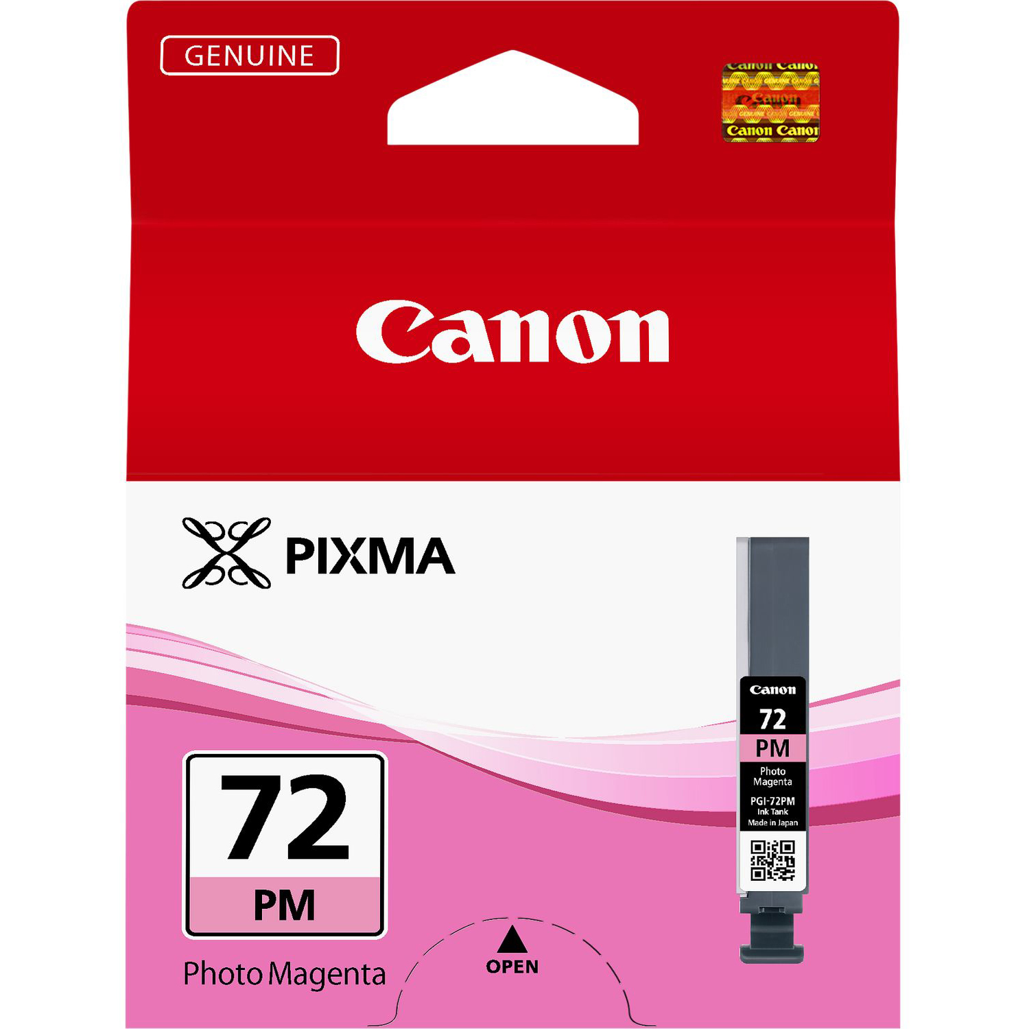 Original Canon PGI-72PM Photo Magenta Ink Cartridge (6408B001)