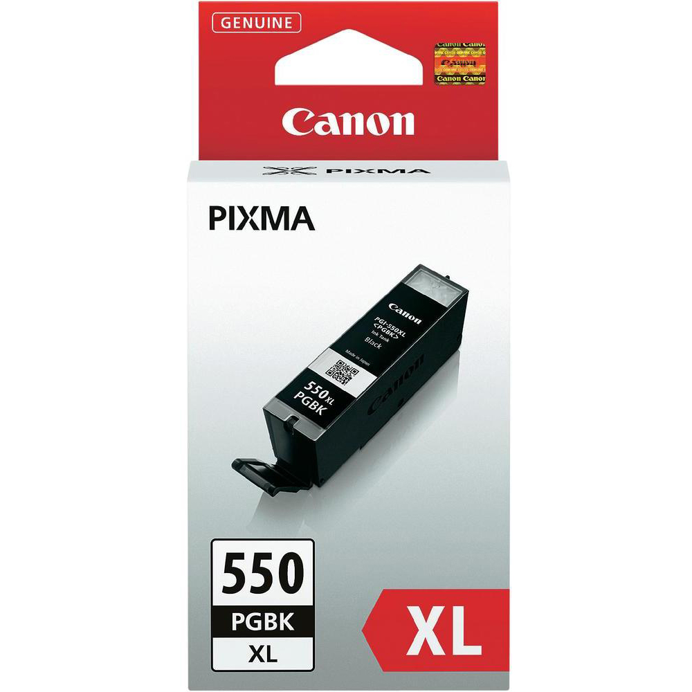 Original Canon PGI-550PGBKXL Black High Capacity Ink Cartridge (6431B001)
