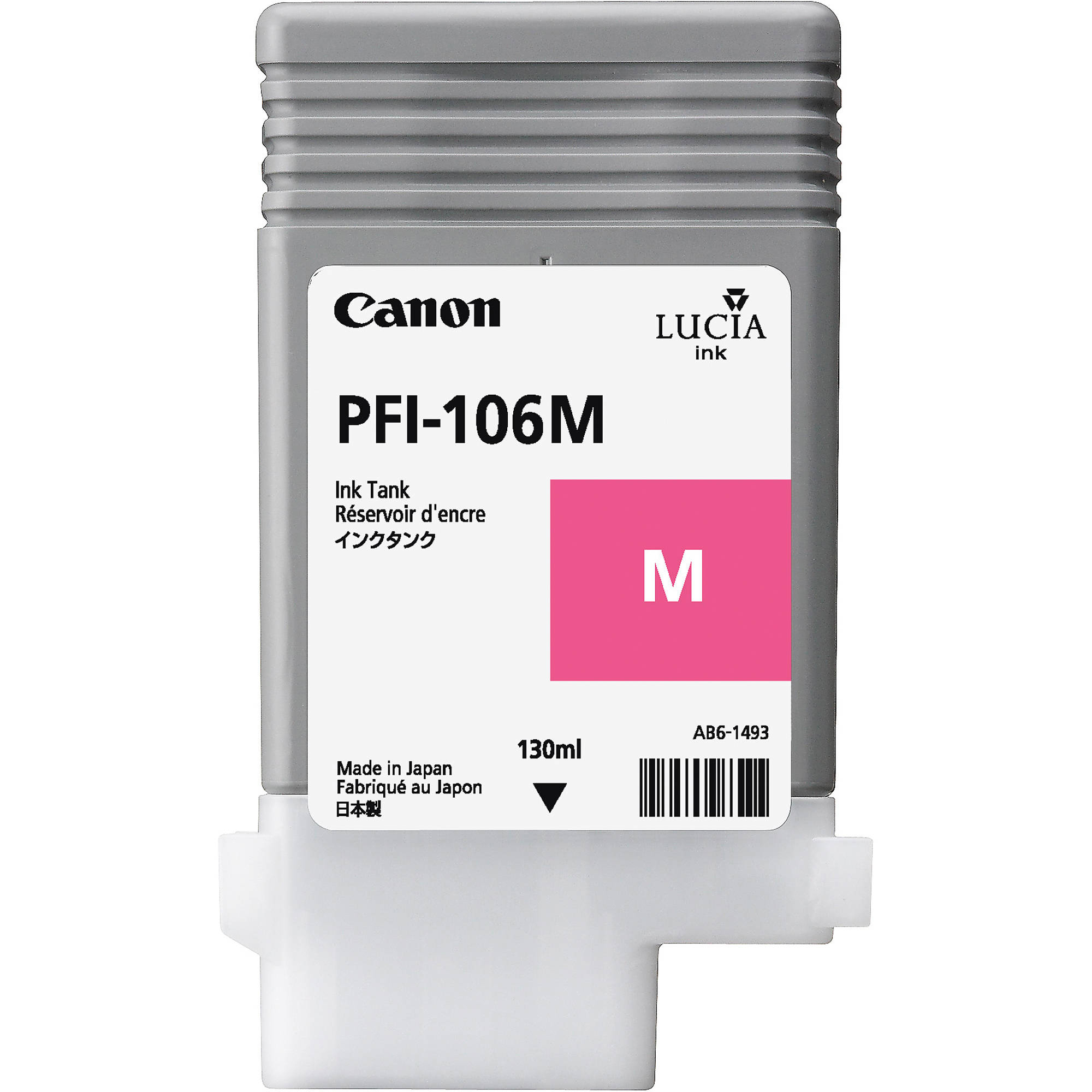 Original Canon PFI-106M Magenta Ink Cartridge (6623B001)